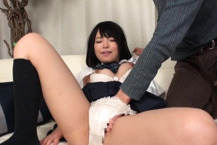 Hinata natsume asian has cunt rubbed in panties and blowjob cock. Hinata Natsume Asian has pussy rubbed in panties and cock sucking cock